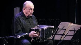 A los 80 años, murió el reconocido bandoneonista Raúl Garello