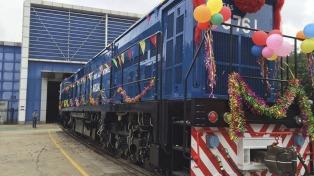 La carga total transportada por los ferrocarriles nacionales subió 3,3% en 2016