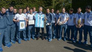 """""""Debemos aprovechar este momento y este ejemplo del futsal"""", afirmó el entrenador Giustozzi"""