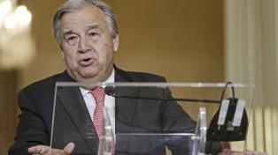 Guterres se comprometió a trabajar por la paz