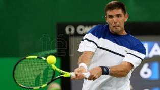 DelBonis cayó en la primera ronda del Masters de Shanghai