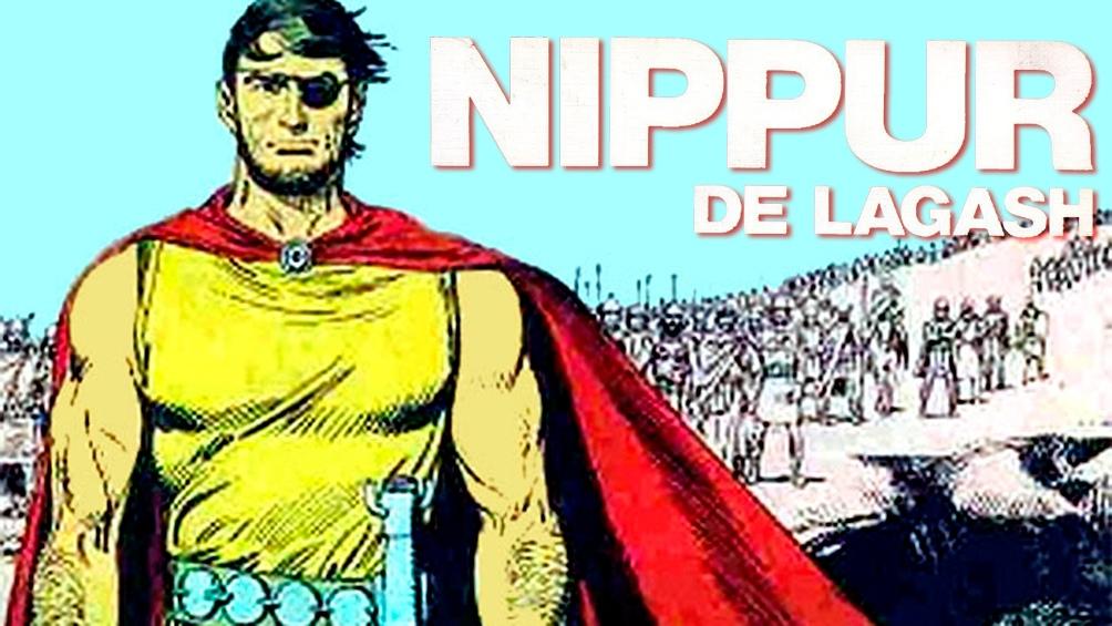 """Wood inventó a """"Nippur de Lagash"""" tomando como referencia las ciudades de Nippur, donde nacieron sus padres, y Lagash, ambas ubicadas en una zona histórica de Oriente Medio."""