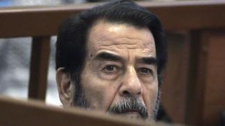 Saddan Hussein.