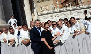 """Para el presidente Macri la canonización """"es un hecho histórico que no se va a repetir"""""""