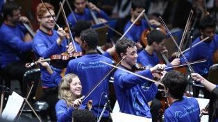 """""""Si las escuelas tuvieran orquestas, tendríamos una sociedad menos violenta"""""""