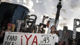 La CIDH denunció una violenta represión contra familiares de los desaparecidos de Ayotzinapa