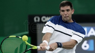 Delbonis se instala en cuartos de final en Ginebra