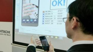 Desarrollaron un sistema que escanea las venas de los dedos con un celular