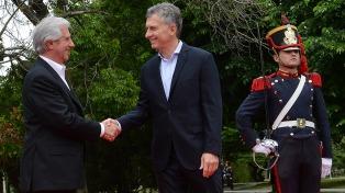 Macri y Tabaré Vázquez inauguran la nueva embajada de Uruguay en Buenos Aires