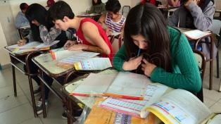 Más de 180.000 alumnos secundarios bonaerenses fueron evaluados en el Operativo Aprender