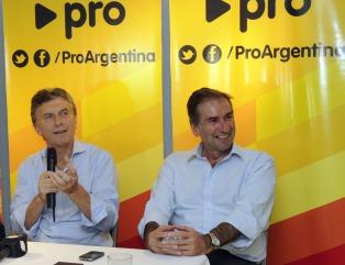 """El titular del PRO confirmó que Macri """"es el candidato a presidente por Cambiemos"""""""