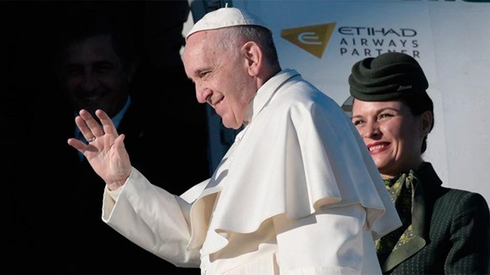 Francisco pasará sus tres noches en Irak en la capital, Bagdag.