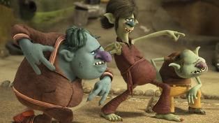 """En boleterías flacas, se impusieron los """"Trolls"""""""