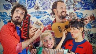 """En clave de recital, Anda Calabaza presenta """"Sin Fin"""" en La Trastienda"""