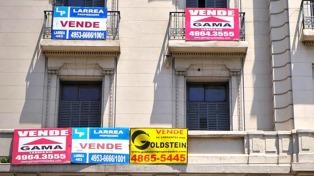 La venta de inmuebles sigue en baja pero crece el interés por lotes