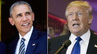 """Una ironía de Obama sobre su sucesor: """"¿Trump terminó la primaria?"""""""
