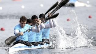 El canotaje argentino se llevó seis medallas de oro en la apertura del campeonato sudamericano