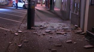 Un fuerte sismo seguido de tsunami dejó al menos dos muertos en Nueva Zelanda