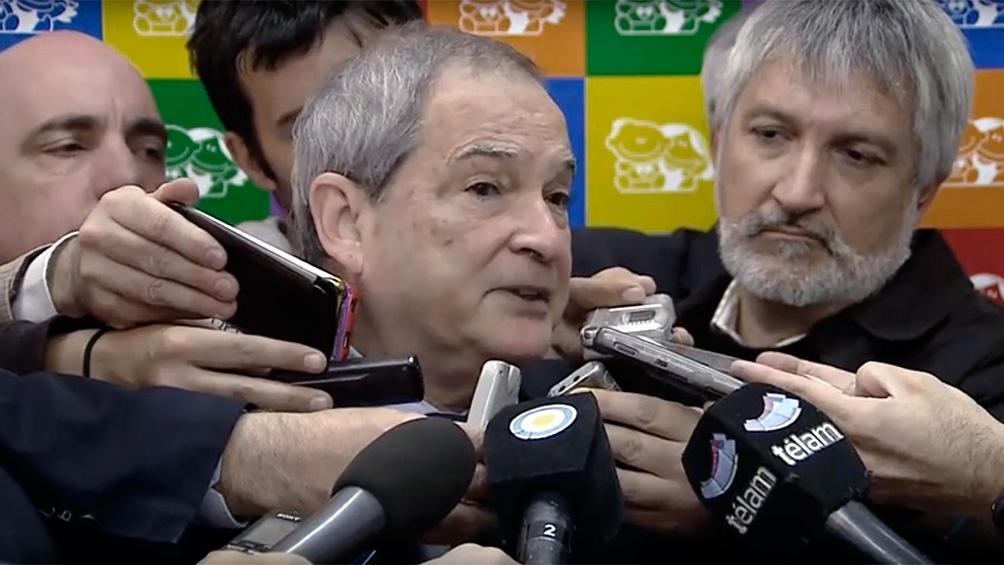 Jorge Lemus fue ministro del área durante el macrismo.