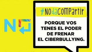 """La campaña contra el ciberbullying """"#NodaCompartir"""" alcanzó más de 29 millones de cuentas en las redes"""