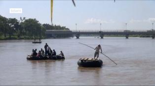 Fallecen ahogados padre e hija migrantes al intentar cruzar la frontera
