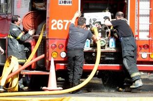 Ardió un departamento en Belgrano y todos los vecinos fueron evacuados