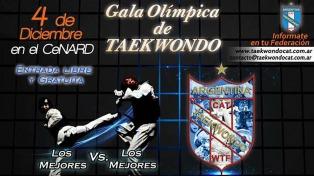 El taekwondo cerrará el año con una competencia en el Cenard