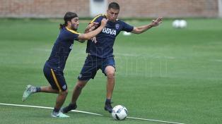Tobio volvió a entrenarse en Boca y está a disposición para el clásico ante River
