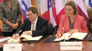 La Unión Europea y el Gobierno cubano firmaron un acuerdo de diálogo y cooperación