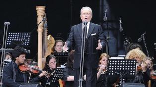 José Carreras recaudó más de 3 millones de euros en una gala