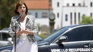 Patricia Bullrich destacó la lucha contra el narcotráfico como el logro más importante del 2016