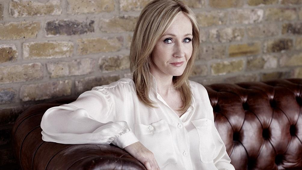 J.K. Rowling, la creadora de Harry Potter.
