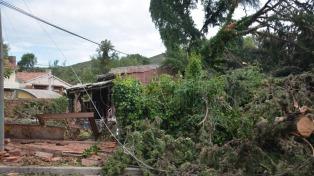 Evacuados e inundaciones en la provincia de Córdoba