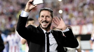 """El """"Cholo"""" Simeone se convierte en el """"decano"""" de los entrenadores de la liga española"""