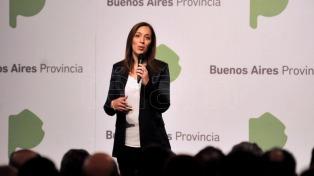 Vidal encabezó la primera reunión de gabinete del año en La Plata