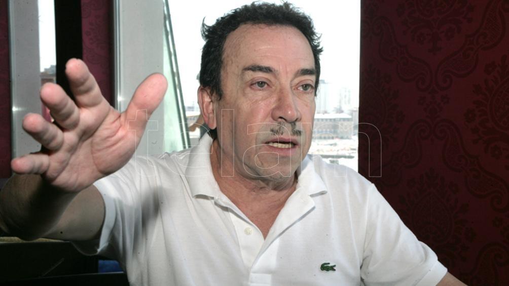 Pachano llegó el viernes de Carlos Paz