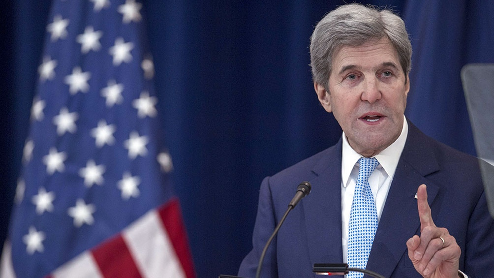 John Kerry, el otro funcionario de la administración Biden que visitó China.
