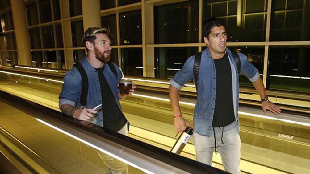 Messi a Suárez:
