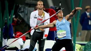 Toledo sumó a una gloria de la jabalina a su equipo y apunta todo a Tokio 2020