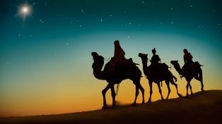 Una representación de los Reyes Magos llegó por primera vez a Belén