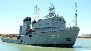 Tras el sismo en la Antártida, la Armada despliega al ARA Puerto Argentino para dar apoyo