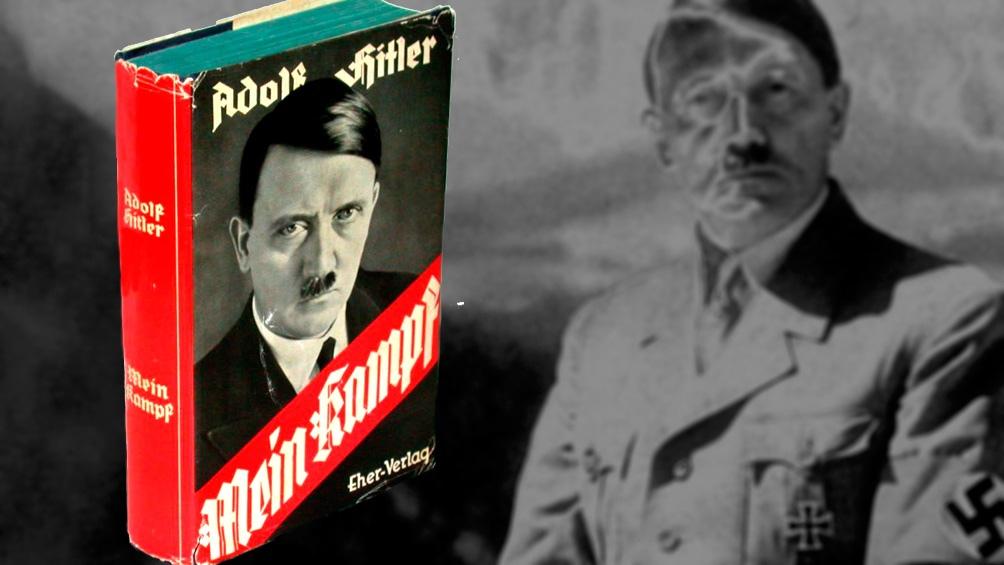 Hitler escribió la obra cuando estuvo en prisión, entre 1924 y 1925.