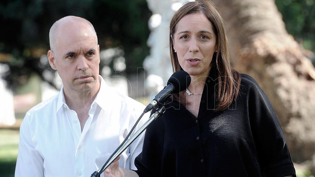 Larreta dio a conocer un video donde elogia a María eugenia Vidal.