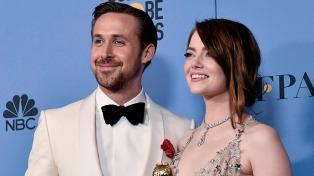 """El musical """"La La Land"""" arrasó en una nueva edición de los premios Globo de Oro"""