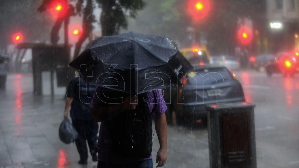 Extienden el alerta amarilla por lluvias, tormentas y vientos a 15 provincias