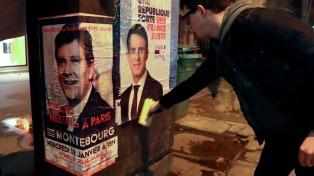 Hamon y Valls definirán en segunda vuelta la primaria del PS francés