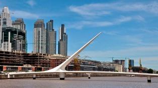 Sábado soleado y con temperatura en ascenso en la ciudad de Buenos Aires
