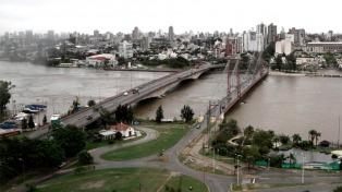 Continúa el descenso de los ríos Paraná y Salado