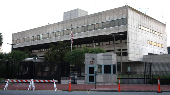 Amenaza de bomba en la Embajada de EEUU en Buenos Aires - Télam ...