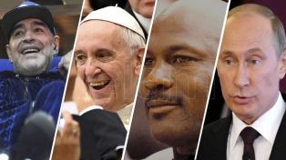 Maradona, entre Harvard, Jordan, el Papa y Putin